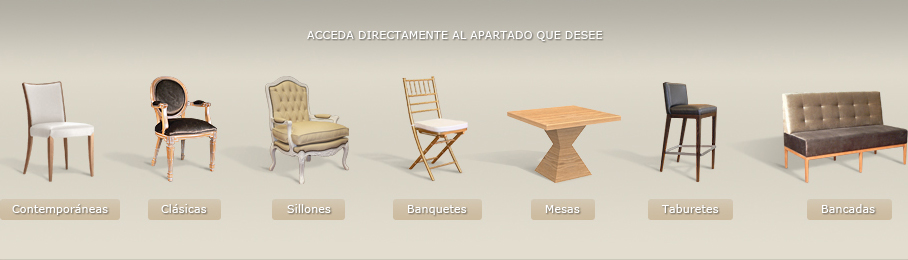 Sillas Infinity Furniture